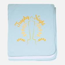 Trophy Night baby blanket