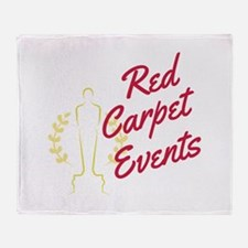 Red Carpet Events Throw Blanket