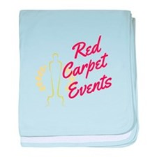 Red Carpet Events baby blanket