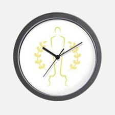 Award Statue Wall Clock