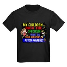 Cute I wear autism ribbon for my son T