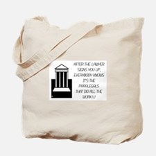 Cute Legal secretary Tote Bag