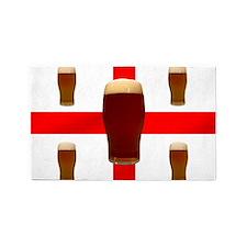 English Beer Area Rug