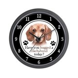 Dachshund Wall Clocks
