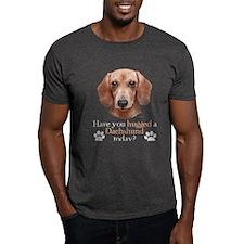 Dachshund Hug T-Shirt
