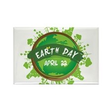 Earth Day April 22 Magnets