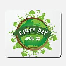 Earth Day April 22 Mousepad