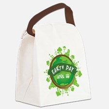 Earth Day April 22 Canvas Lunch Bag