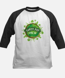 Earth Day April 22 Baseball Jersey