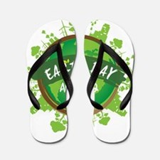 Earth Day April 22 Flip Flops