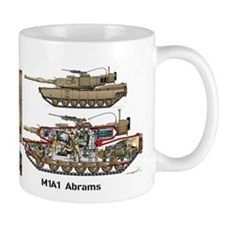 M1a1 Abrams Mbt Steve Mugs