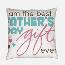 Best Fathers Day Gift Everyday Pillow