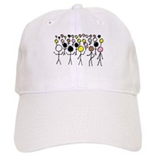 Equality Stick Figures Baseball Cap
