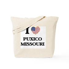 I love Puxico Missouri Tote Bag