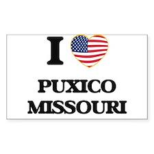 I love Puxico Missouri Decal