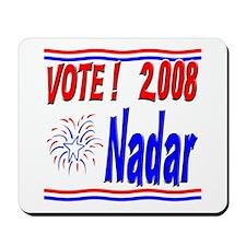 Vote Nadar Mousepad