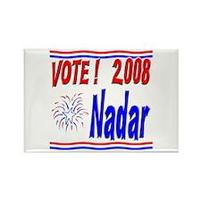 Vote Nadar Rectangle Magnet