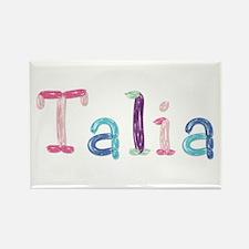 Talia Princess Balloons Rectangle Magnet