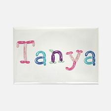 Tanya Princess Balloons Rectangle Magnet