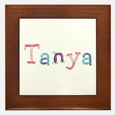 Tanya Princess Balloons Framed Tile