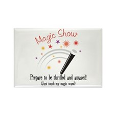 Touch My Magic Wand Rectangle Magnet