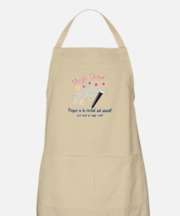 Touch My Magic Wand BBQ Apron