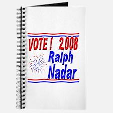 Vote Ralph Nadar Journal