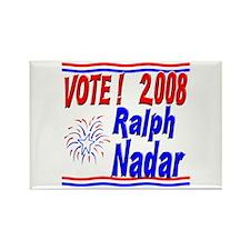 Vote Ralph Nadar Rectangle Magnet