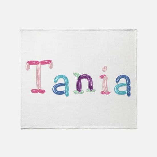 Tania Princess Balloons Throw Blanket