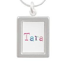 Tara Princess Balloons Silver Portrait Necklace
