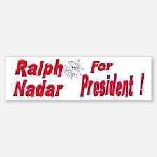 Ralph Nadar Bumper Bumper Bumper Sticker