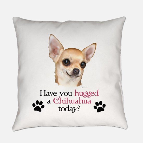 Chihuahua Hug Everyday Pillow