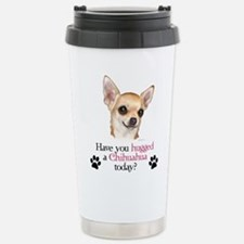 Chihuahua Hug Travel Mug