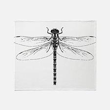 Dragonfly Throw Blanket