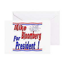 Bloomberg for President Greeting Cards (Pk of 10)