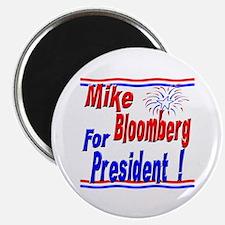 """Bloomberg for President 2.25"""" Magnet (10 pack)"""
