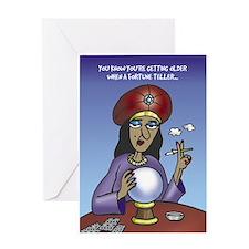 Fortune Teller - Greeting Card