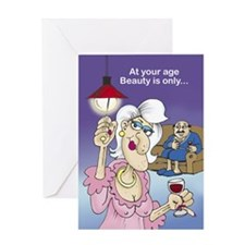 At your Age - Greeting Card