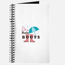 Rain Boots Journal