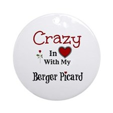 Berger Picard Ornament (Round)