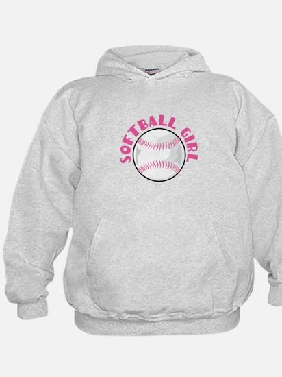 Softball Girl Sweatshirt