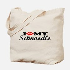 Schnoodle - I Love My Tote Bag