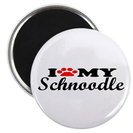 Schnoodle - I Love My Magnet