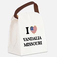 I love Vandalia Missouri Canvas Lunch Bag