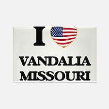 I love Vandalia Missouri Magnets