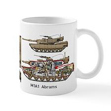 M1a1 Abrams Usmc 1st Tank Battalion Mug Mugs