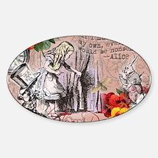 Alice in Wonderland Vintage Adventures Decal