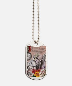 Alice in Wonderland Vintage Adventures Dog Tags