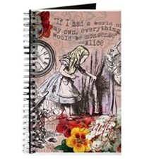 Alice in Wonderland Vintage Adventures Journal