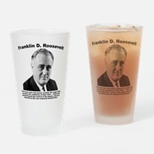 FDR: Dictatorship Drinking Glass
